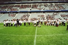 AG Percussion in der Allianz Arena